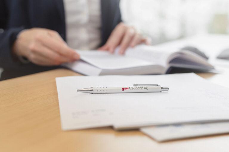 GSW Dienstleistungen Kugelschreiber Besprechung
