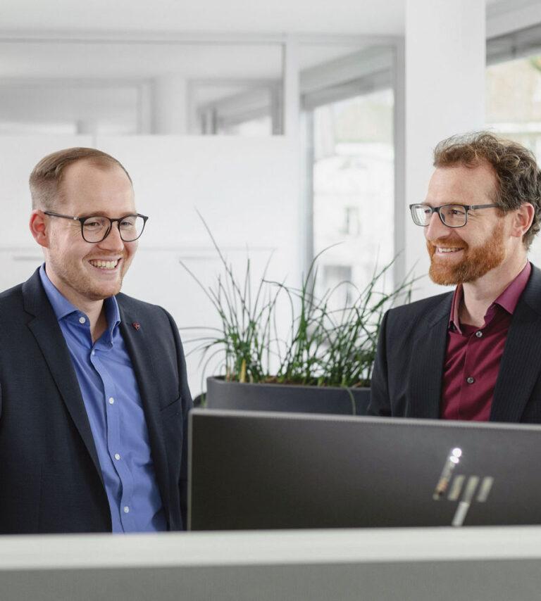 GSW Team Besprechung Computer